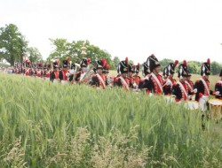 Vieux-grenadiers-défilent-à-Versoix