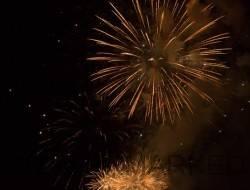 Feu d'artifice du 1er août à Versoix