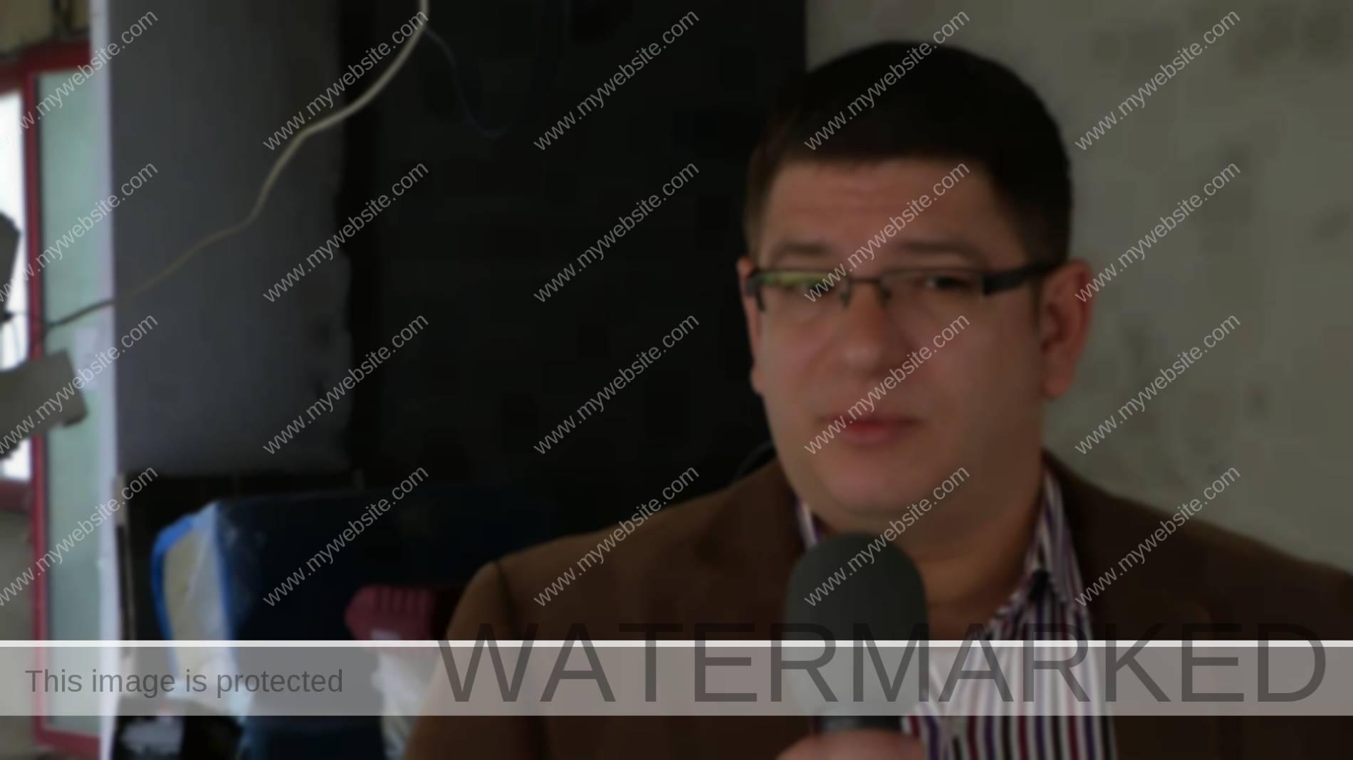 Marco Christov, l'architecte du poste de police de Versoix