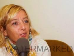 La comédienne et humoriste Brigitte Rosset à la Guinguette de Mies.