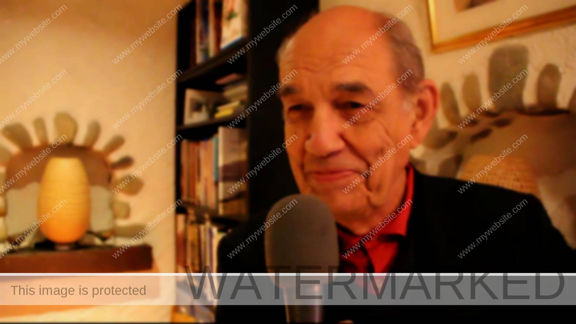 Guillaume Chenevière anime une conférence à Pregny-Chambésy