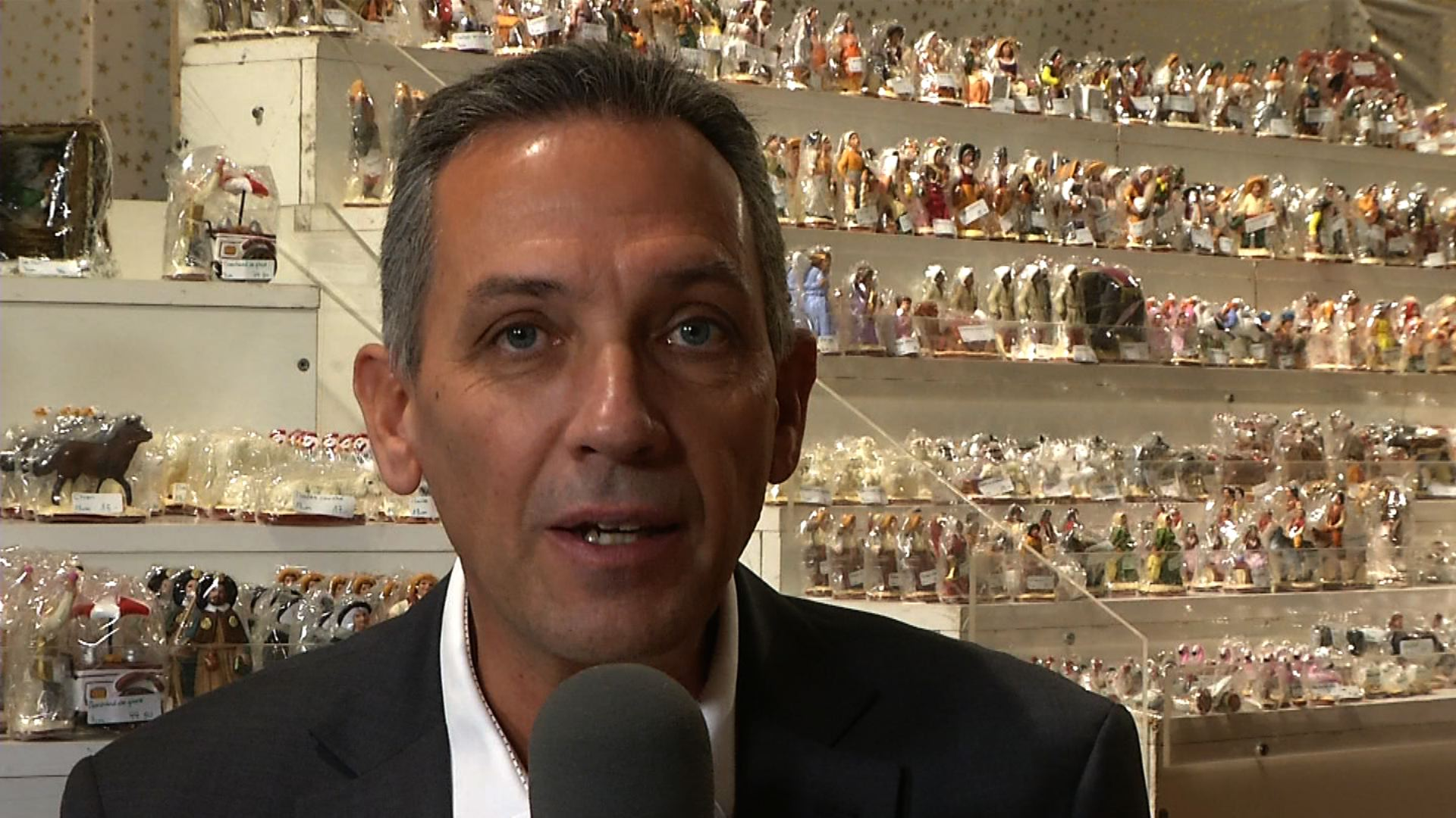 Alain Riat, présient de la musique municipale de Versoix