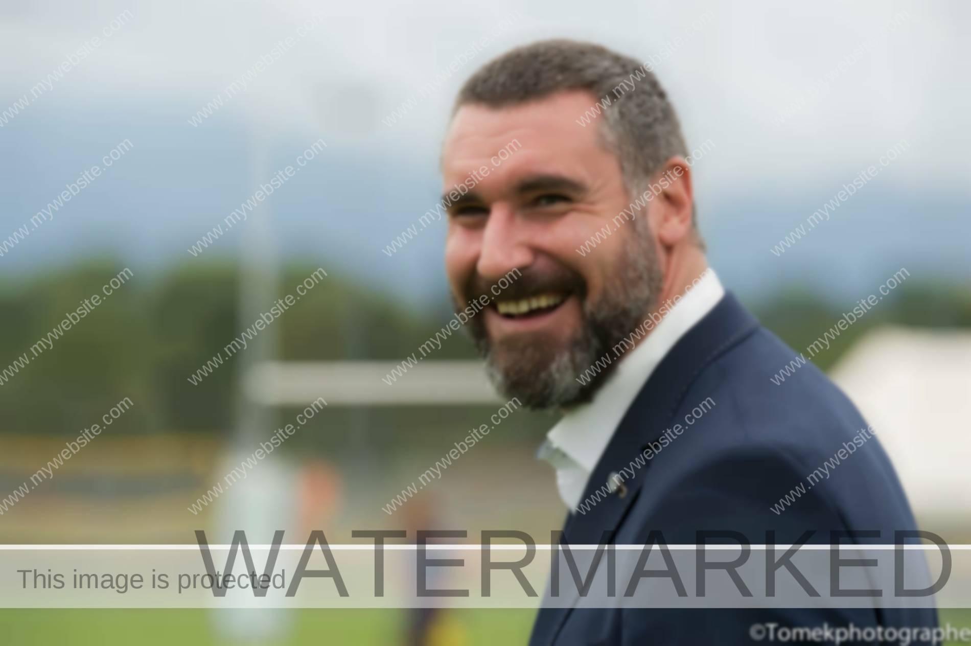 président du Rugby Club Cern Meyrin St Genis
