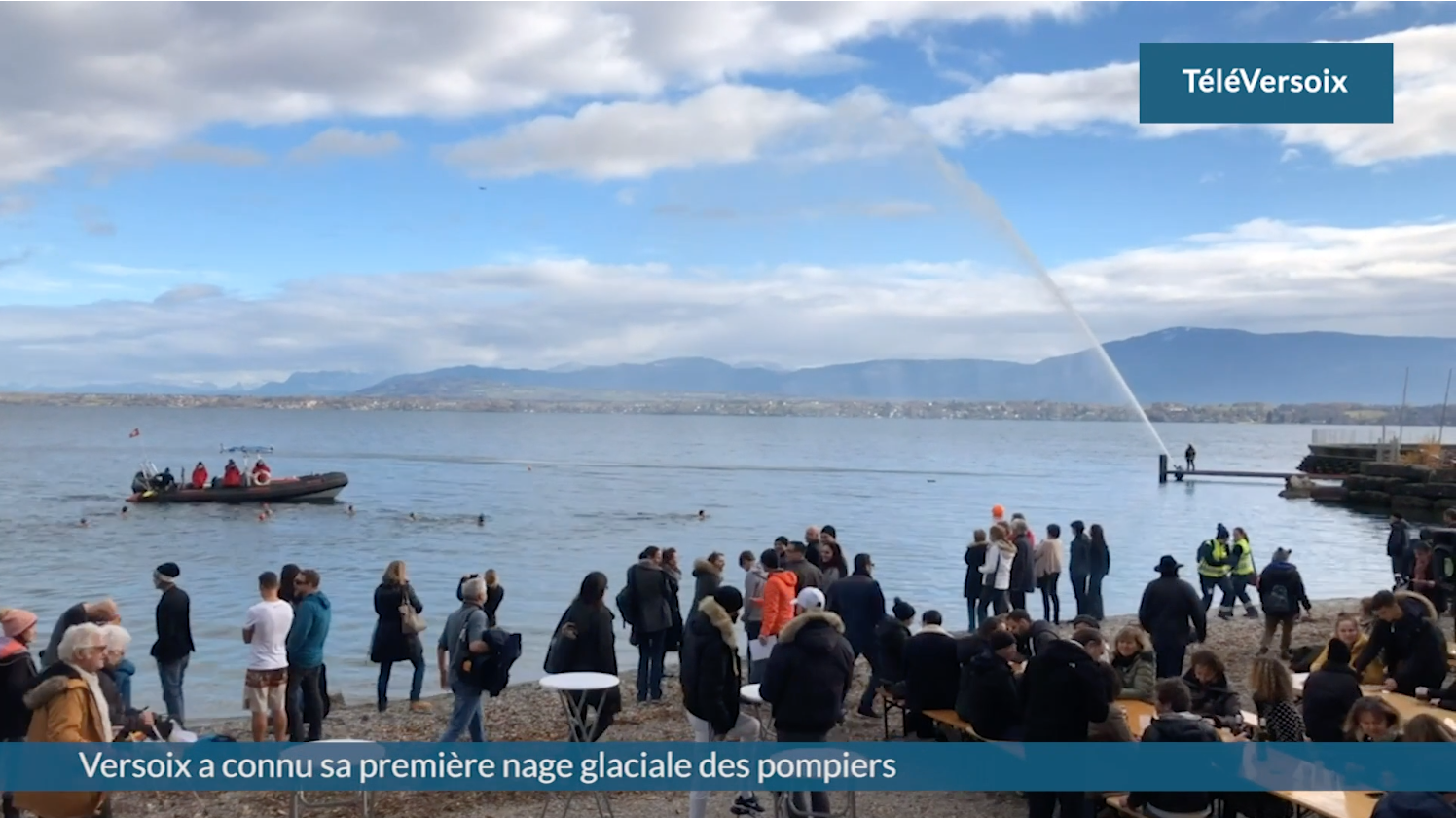 Versoix a connu sa première nage glaciale