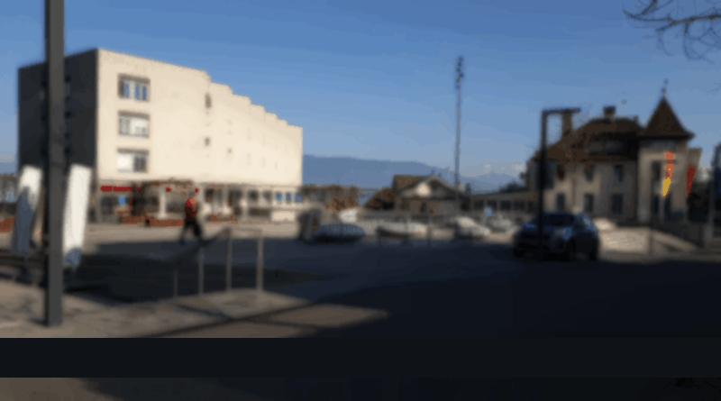 Place de la gare Versoix