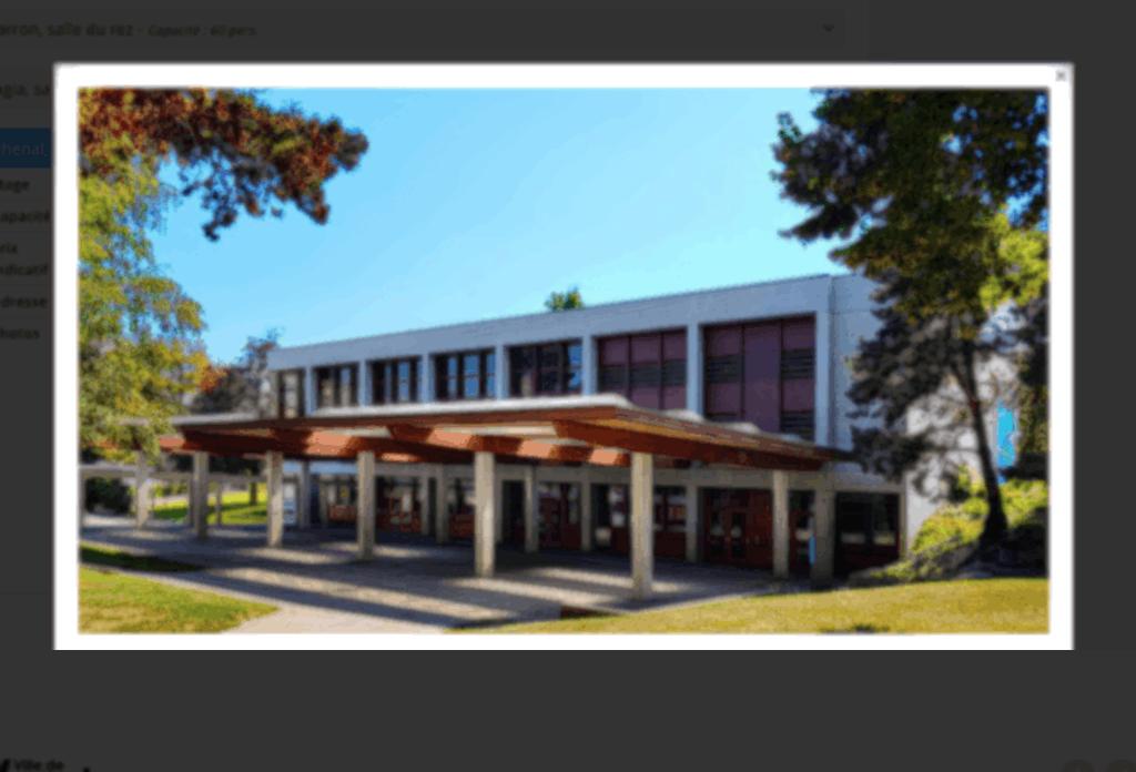 Salle Communal Lachenal, Versoix