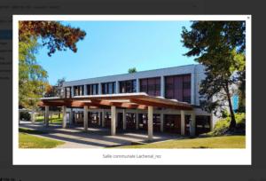 Salle Communale Lachenal, Versoix