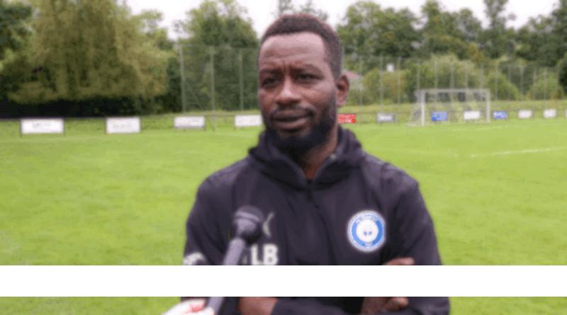 Thierno Bah, entraîneur FC Versoix
